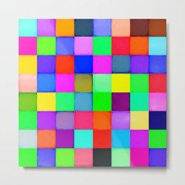 Color blocks Metal Print