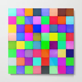 Color blocks Metal Print