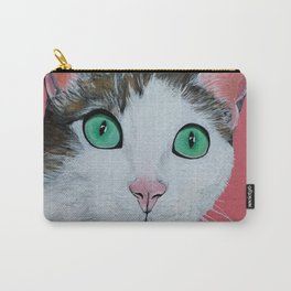 Pop Art Cat Painting Carry-All Pouch