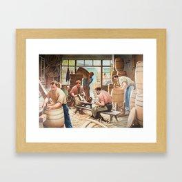 Coopers Framed Art Print
