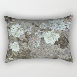Lichen on granite Rectangular Pillow