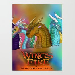 Wings Of Fire Dragons Poster