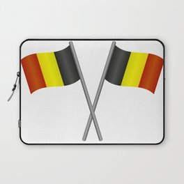 Belgium flag Laptop Sleeve