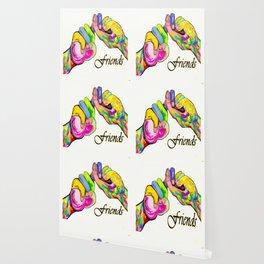 ASL Friend Bright Colors Wallpaper