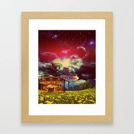 The Las Vegas Dream Framed Art Print