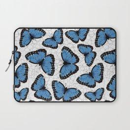 Blue morpho butterflies Laptop Sleeve