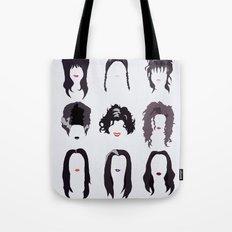 Creepy Girls Tote Bag