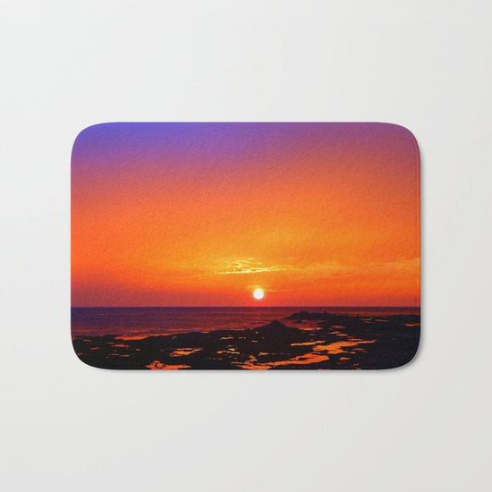 Unbelievable Sunrise Bath Mat