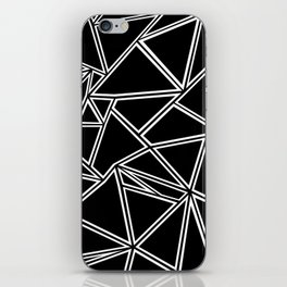 Shattered Ab Zoom iPhone Skin