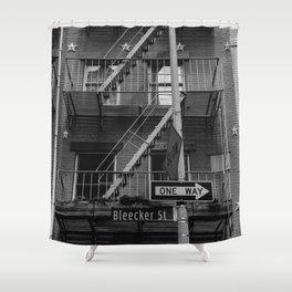 Bleecker Street II Shower Curtain