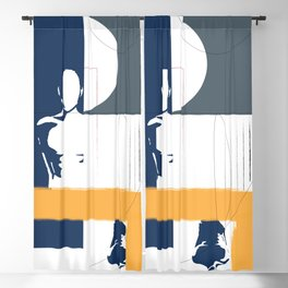 Geometric interactions Blackout Curtain