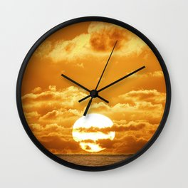 6:02 PM Hawaii Time Wall Clock