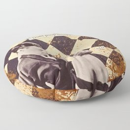 Things That Make Ya Go Hmmmm Floor Pillow