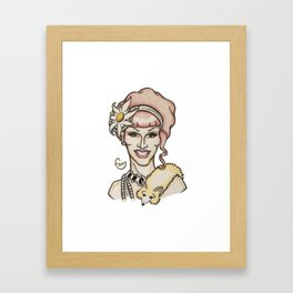 jinkx Monsoon Framed Art Print