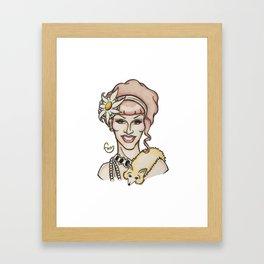 jinkx Monsoon Framed Art Print
