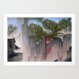 Interference #3 Art Print
