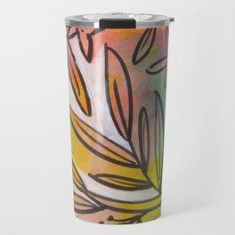 Bright Colorful Jungle Canopy Travel Mug