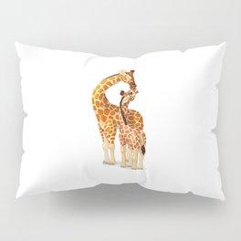 Mother and child giraffes Pillow Sham