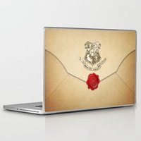 daenerys targaryen Laptop & iPad Skins featuring HARRY POTTER ENVELOPE by Sophie