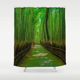 Bamboo Trail Shower Curtain