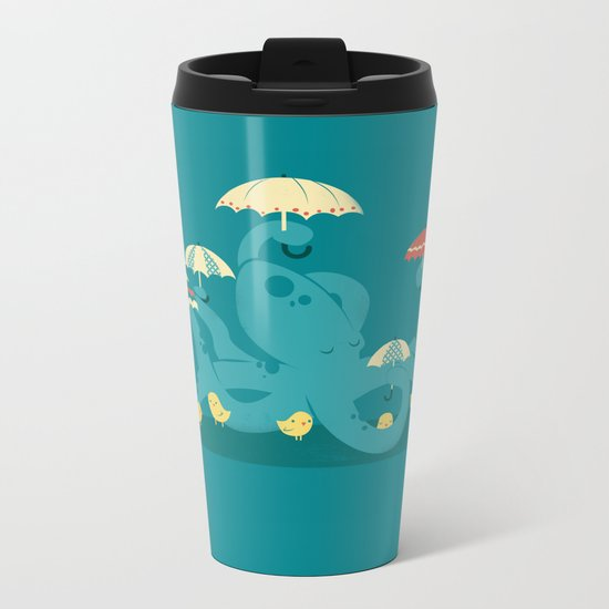 Keepin' the Chicks Dry Metal Travel Mug