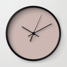 VINTAGE PINK XVII Wall Clock