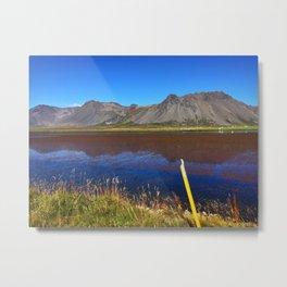 Icelandic Mountains on the Snæfellsnes Peninsula (2) Metal Print