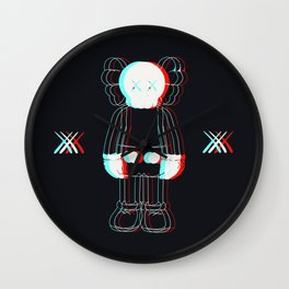 Trippy Kaws Wall Clock