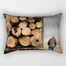 3's A Crowd Rectangular Pillow