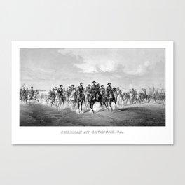 General Sherman At Savannah Georgia Canvas Print