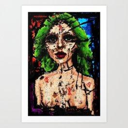 Mercy Is The Human Heart Art Print