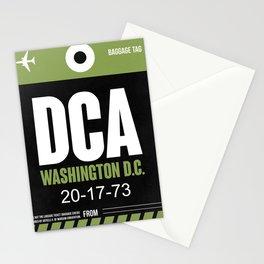 DCA Washington Luggage Tag 2 Stationery Cards