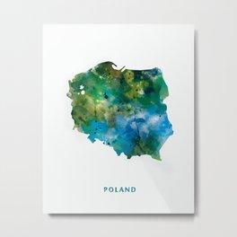 Poland Metal Print