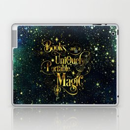 Books Are a Uniquely Portable Magic Laptop & iPad Skin