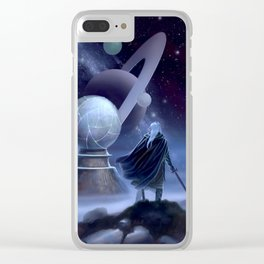 The Temple at the End of Time Clear iPhone Case