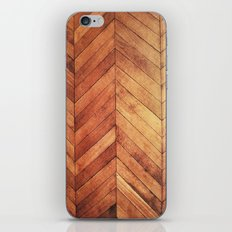 3D Wood  iPhone Skin