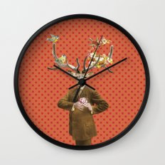 Monsieur Le Cerf Wall Clock