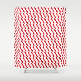 Nautical Liferings Shower Curtain