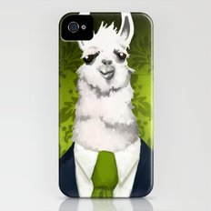 Formal Llama - Green iPhone (4, 4s) Slim Case