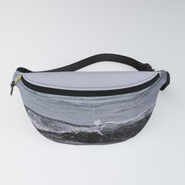 Snowing on the Waves Fanny Pack