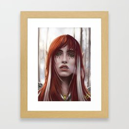 Changeling Witch Framed Art Print