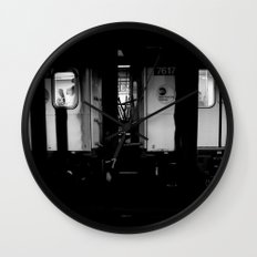 Ridin' Wall Clock