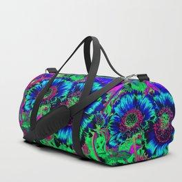 Hippie Flowers Duffle Bag