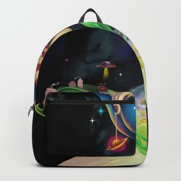 Moon fairy and the space scientists Backpack