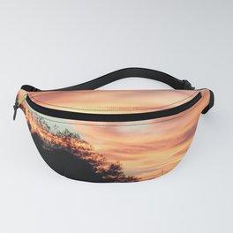 Pastel sunset skies Fanny Pack