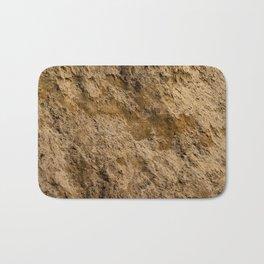 Clay texture Bath Mat