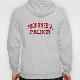 Palikir Micronesia City Souvenir Hoody