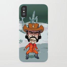 Night Cowboy iPhone Case