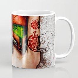 Sexy Metroid Samus Aran Pinup Zero Suit Painting Coffee Mug