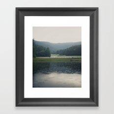 Tennessee Rain Framed Art Print
